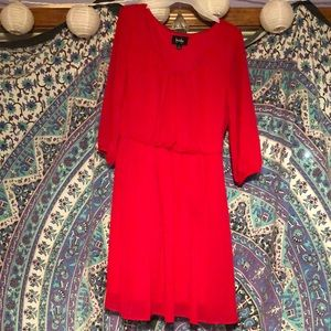 Cute Red Party Formal Mini Dress